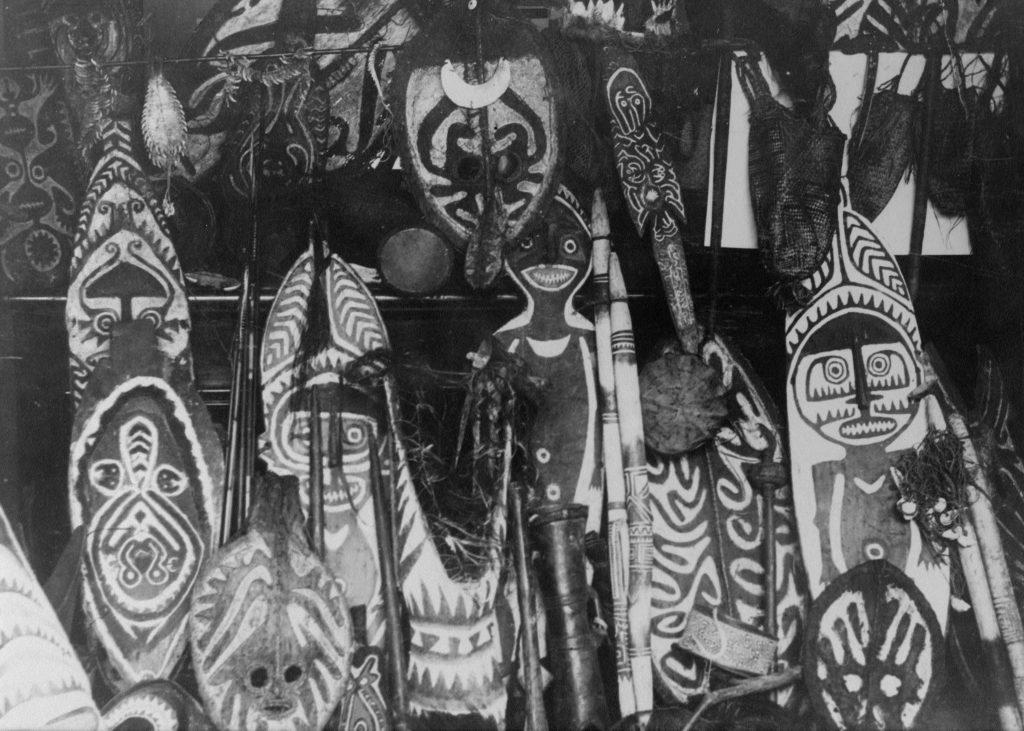 Papuan Gulf Masks and Sculptures